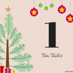 [ADVENTSKALENDERTÜRCHEN #1] mit Tom Tailor